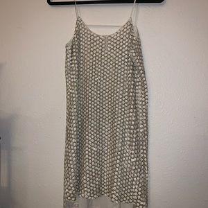 Parker white sequin minidress or tunic